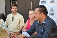 Ambulantes participam de reunião na Câmara e pedem melhorias para a praça Joaquim José