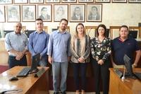 Autoridades de Estiva Gerbi visitam a Câmara Municipal de São João da Boa Vista