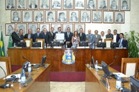 Câmara entrega Título de Cidadão Sanjoanense para Luiz Flávio Borges D´Urso, conselheiro da OAB