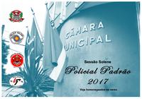 Câmara vai entregar no dia 19 o Título de Policial Padrão a 6 profissionais de segurança pública