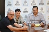 Feirantes são recebidos na Câmara em busca de melhorias para as atividades no São Benedito