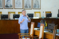 Vereadores e funcionários da Câmara participam de palestra sobre comunicação