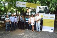 Vereadores prestigiam entrega de caminhão para a Associação dos Produtores de São João (Aprosã)