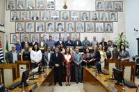 Câmara entrega Título de Cidadão Sanjoanense a Nelson de Barros O´Reilly Filho e Ronaldo Frigini em Sessão Solene