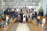 Câmara Municipal realiza entrega das medalhas de mérito cultural, esportivo e título de cidadão benemérito