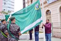 Câmara participa do hasteamento das bandeiras em comemoração pelos 197 anos de São João