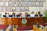 Comissão Processante instalada na Câmara Municipal colhe depoimentos de 3 pessoas