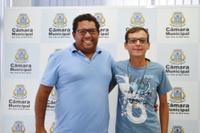 Morador do Guanabara e missionário apresentam reivindicações ao presidente da Câmara de São João