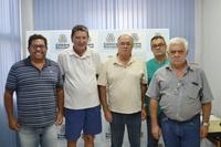 Munícipes são recebidos pelo Presidente da Câmara, Vereador Bira, na sede do Legislativo