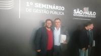 Presidente Bira participa de Seminário de Gestão Pública em São Paulo