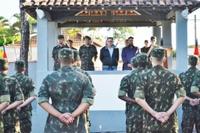 Presidente da Câmara de São João participa de visita técnica na sede do Tiro de Guerra