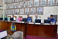 Sessão de 11.03.19 – Vereadores aprovam 11 documentos e debatem curso de Medicina e Santa Casa com membros da Unifae