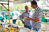 Inaugurada a Feira do Produtor Rural na Avenida Dr. Durval Nicolau, com participação de vereadores