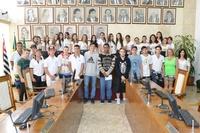 Legislativo recebe mais um grupo de estudantes da escola Dr. Teófilo de Andrade