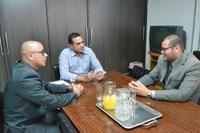 Presidente da Câmara Municipal recebe diretor da Organização Social Vitale Saúde