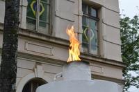 São João celebra Independência com hasteamento de bandeiras e desfile cívico