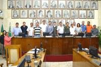 Vereadores aprovam 15 documentos e homenageiam Atirador Destaque de 2015
