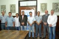 Vereadores presentes na oficialização do convênio da Atividade Delegada de polícia