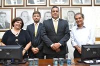 Vereadores votam para nova Mesa Diretora e Gérson Araújo é eleito presidente da Câmara Municipal